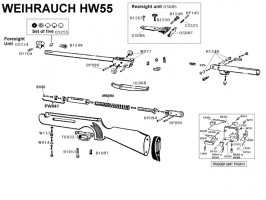 Weihrauch HW55 légpuska