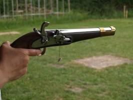 """1844 """"Augustin"""" lovassági pisztoly 2. rész"""